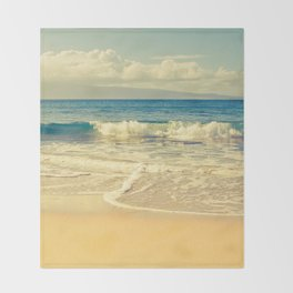 Kapalua Maui Hawaii Throw Blanket
