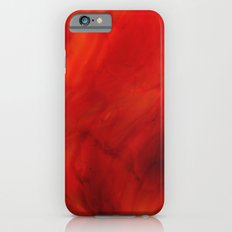 Red glass iPhone 6s Slim Case
