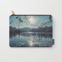 India - Blue lake Carry-All Pouch