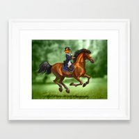 swag Framed Art Prints featuring Swag by kajoo art