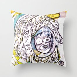 The Living Tree Throw Pillow
