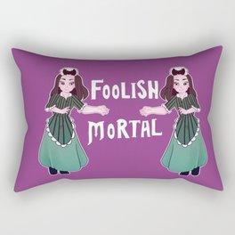 Foolish Hostess Rectangular Pillow