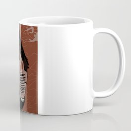 Monkey Skull Suit Coffee Mug