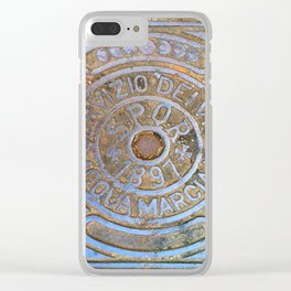Milan Iron Utility Cover Clear iPhone Case
