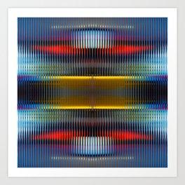 Abstract Lights Art Print