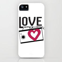 lave camera_film iPhone Case