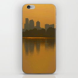 Come Sit With Me At Sloan Lake Downton Denver Colorado iPhone Skin