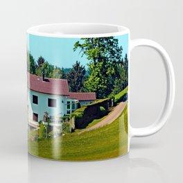 Farm, trees, clouds - what else? Coffee Mug