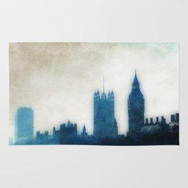The Many Steepled London Sky Rug