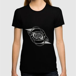 Abstract Forms - Freud's Eye (Dark) T-shirt