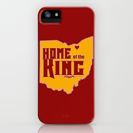 Home of the King (Red) iPhone Case