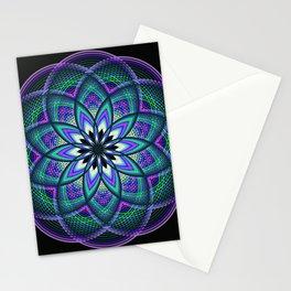 Galactic Flower - Digital Art  Stationery Cards