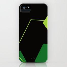 Green Man Meditation iPhone Case
