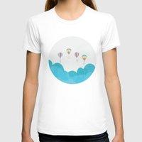 hot air balloon T-shirts featuring hot air balloon.. LOVE...  by studiomarshallarts