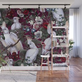 Floral and Birds XLI Wall Mural