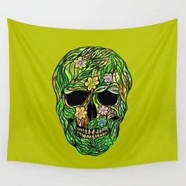 Skull Nature Wall Tapestry