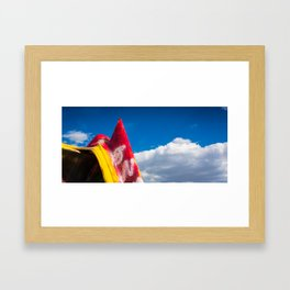 Painted Cadillac Framed Art Print