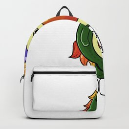 Unicorn Avocado Guacamole Guac Vegan Backpack
