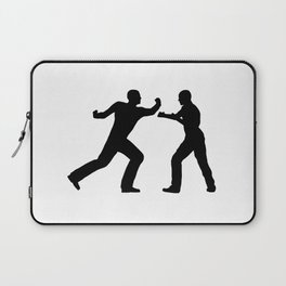 Fight Scene Laptop Sleeve