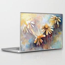 Purple Dream Garden, watercolor explorations Laptop & iPad Skin
