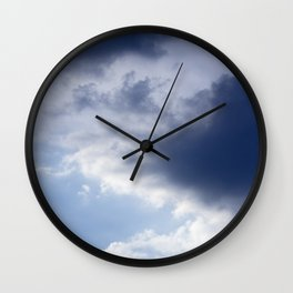 Sky and Clouds Wall Clock