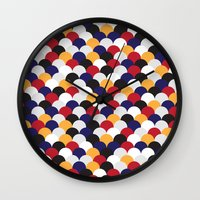 scales Wall Clocks featuring Scales by Daisho