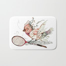 The Wild Badminton Birdie Bath Mat