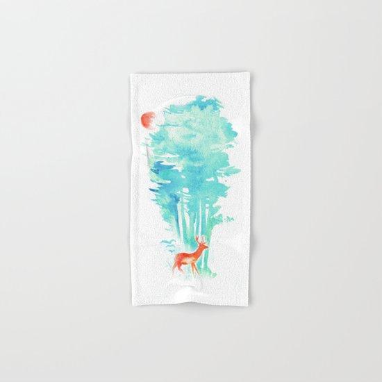 Summer in the Woods Hand & Bath Towel