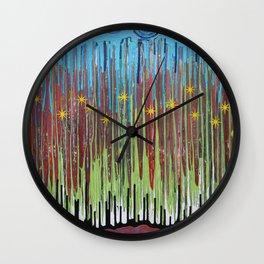 Starry Nite Wall Clock