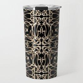 Abstract pattern . Travel Mug