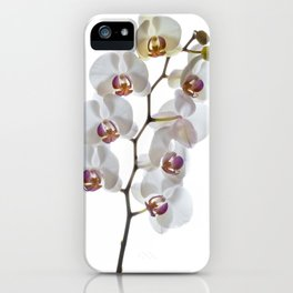 Orchids in High Key iPhone Case