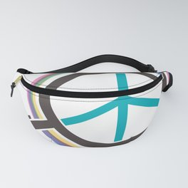 Finding The Peace From Our Heart Fanny Pack