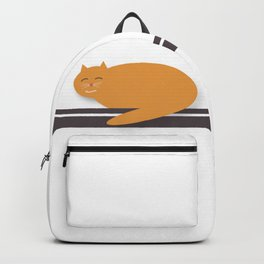 Happy Cat Nap Backpack