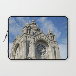 Cathedral of Santa Luzia Laptop Sleeve