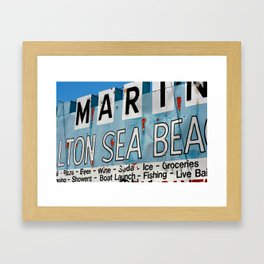 Salton Sea Framed Art Print