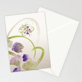 Atom Flowers #19 Stationery Cards