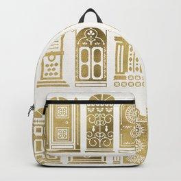 Moroccan Doors – Gold Palette Backpack