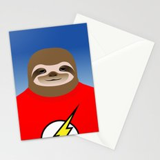 A SLOTH NAMED FLASH Stationery Cards