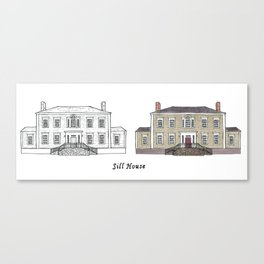 Sill House Canvas Print