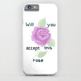 ROSE-ROSE iPhone Case