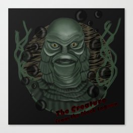 The Creature from the Black Lagoon Canvas Print