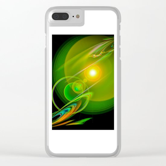 Abstract Perfection 58 Clear iPhone Case