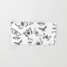 Butterflies and moths Hand & Bath Towel