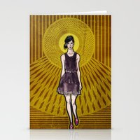 dress Stationery Cards featuring Dress by Filip Postolache