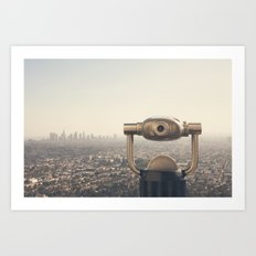 The View: City of Angels Art Print