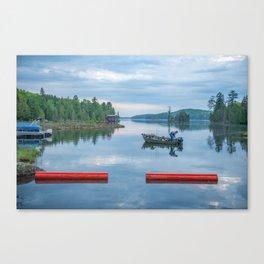 Palmerston Lake Canvas Print