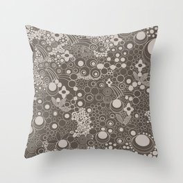 BUBLES II Throw Pillow