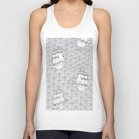 ships Tank Tops featuring Ships by hellotomato
