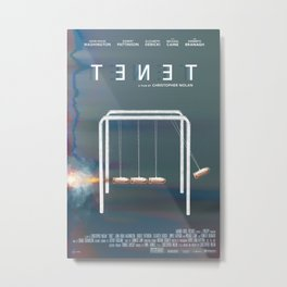TENET Metal Print