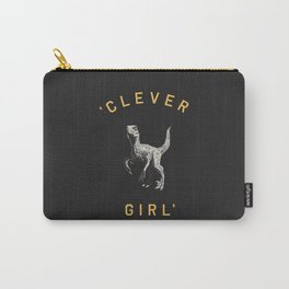 Clever Girl (Dark) Carry-All Pouch